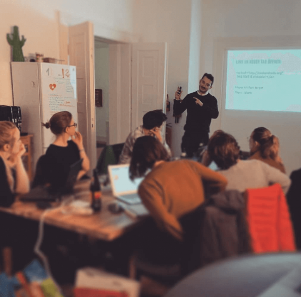 COOK and CODE Workshop bei MyTalentScout