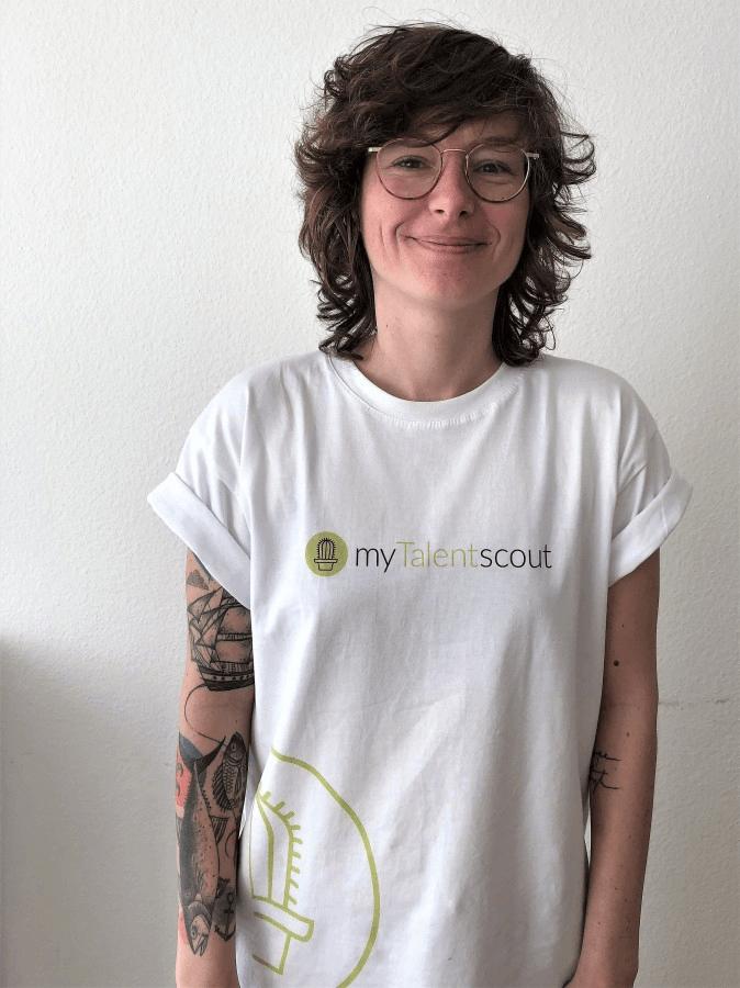 Jasmin Cavalcanti, Geschäftsführerin und Mitgründerin bei der myTalentscout GmbH: Programmieren lernen stärkt Selbstvertrauen.